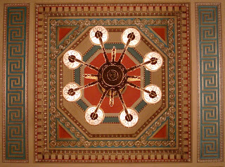 Ceiling in the Great Hall, Stormont (Parliament Building)