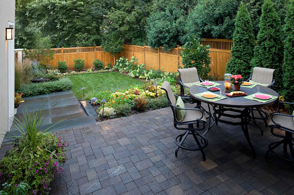 Small space backyard landscaping ideas