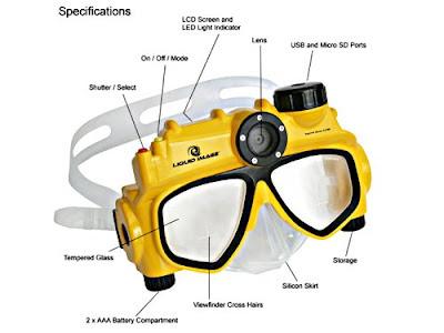 Liquid Image Digital Underwater Camera Mask