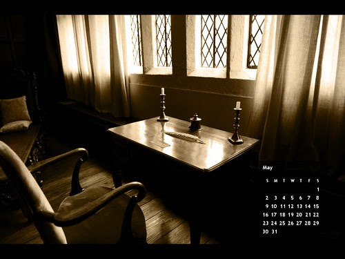 May 2010 Desktop Calendar by Ian Livesey © All rights reserved. [click here then select All Sizes to download for your Desktop]