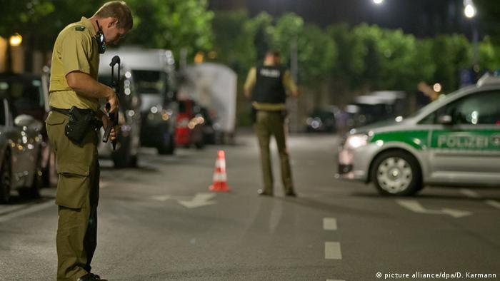 Deutschland Ansbach Explosion