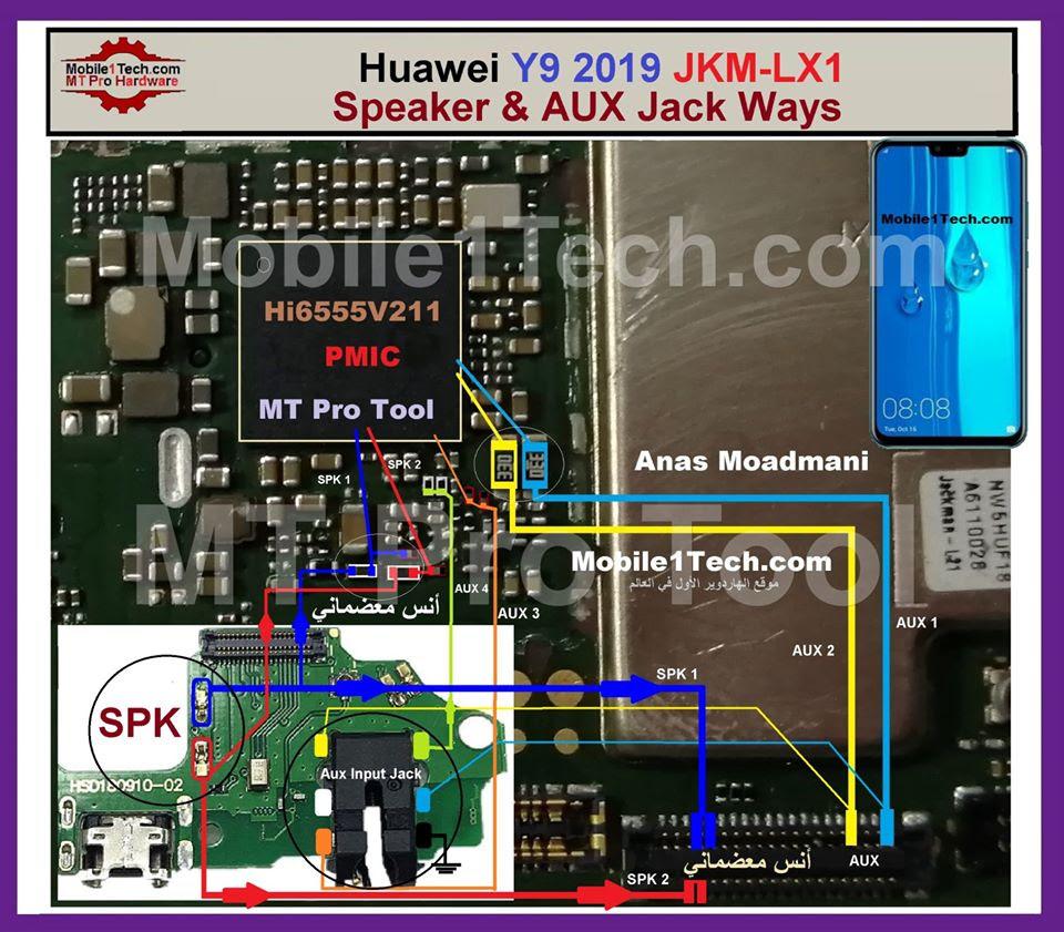 Huawei Y9 2019 Hands Free Jumper Solution Headphone Jack Ways