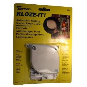 Screen Door Closer Thermor Kloze It Automatic Sliding