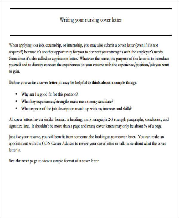 Cover Letter Online Format Sample Cover Letter