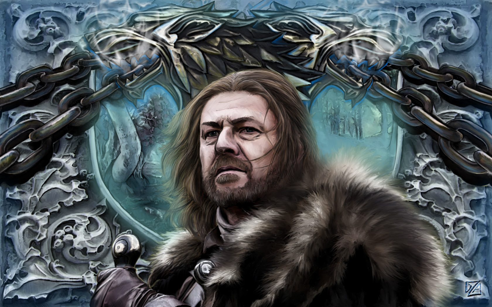 Stark Wolf Of The North Wallpaper Game Of Thrones Wallpaper