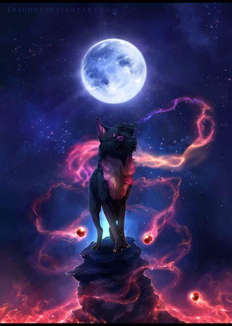 song   blue moon commission  eredhysdeviantart