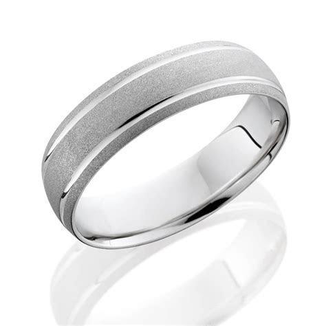 Mens 950 Platinum Brushed Comfort Fit Wedding Ring Band   eBay