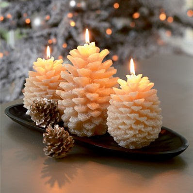 Pinecone Candles from Crate & Barrel - Bring the nature ...