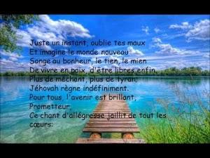 Texte Du Jour Des Temoin De Jehovah