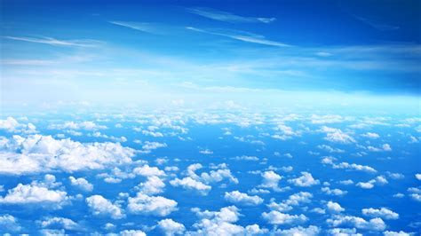Wallpaper Clouds, Blue sky, HD, 5K, Nature, #3492