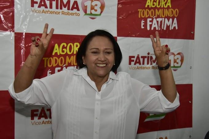 Fátima Bezerra é a governadora eleita mais votada da história do RN