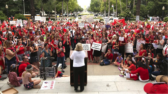 California SB277: Dangerous legislation requiring parents to sacrifice the human right to make medical risk-taking decisions to retain the civil right to education. Learn more at NVIC.org.