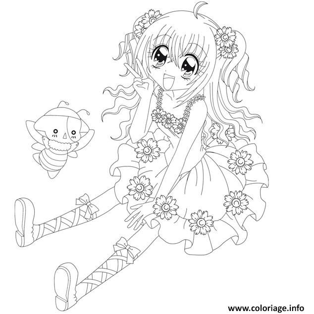Vedkokeven Blogspot Com Dessin A Imprimer De Fille Manga
