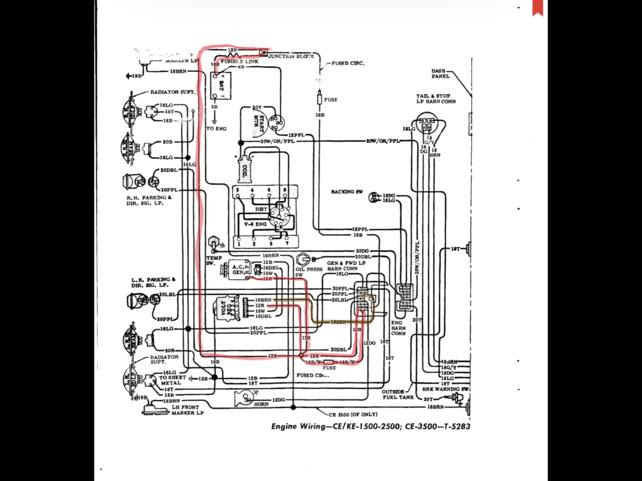 What Is The Brown Alternator Wire For The 1947 Present Chevrolet Gmc Truck Message Board Network