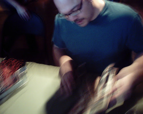 Greg Rucka signing