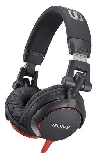 Sony MDR-V55 headphones red