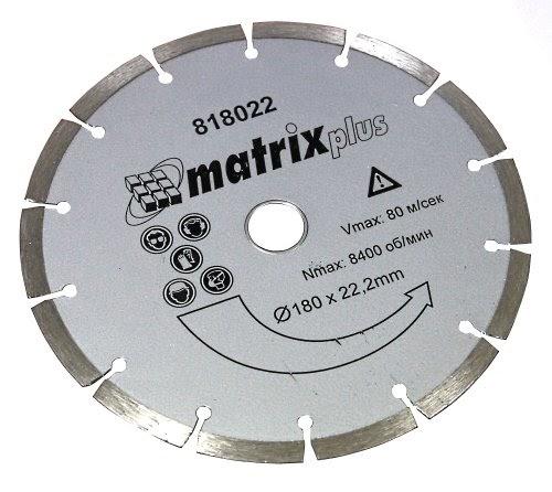 Aerzetix disque diamant coupe a sec segmente pour for Disque meuleuse pour couper carrelage