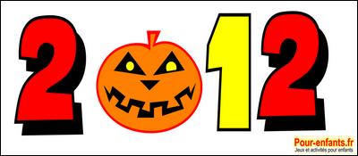 Halloween 2012 dessins année 2012