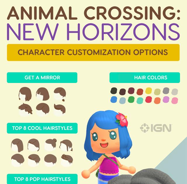 Acnl Boy Hairstyles : Animal Crossing New Leaf Hair Guide ...