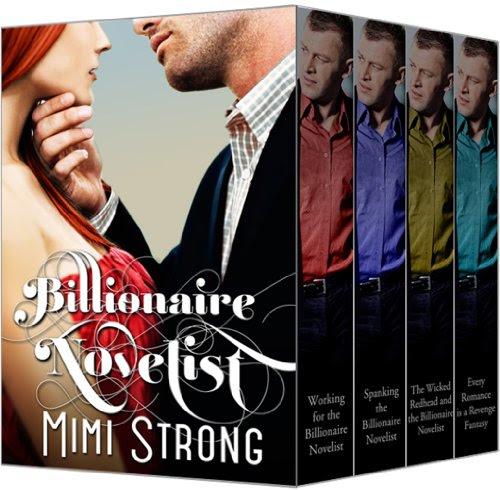 Typist - Billionaire Novelist: Complete Series (Erotic Romance) by Mimi Strong
