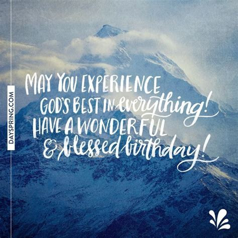 Image result for birthday quotes mountain   w o r d s
