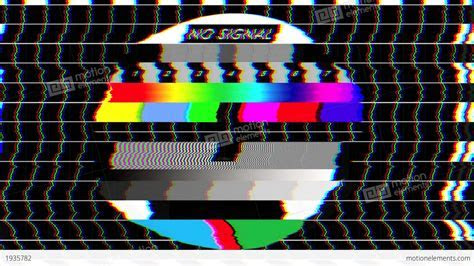 Bad TV   II   Glitchy Noise & Sound Stock Animation   1935782