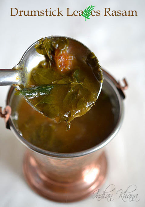 Drumstick Leaves Rasam Recipe