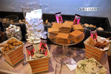 Smores Station   Smores Bar   Wedding Smores Bar   Wedding