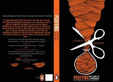 book cover design   Perfume: The Story of a Murder Patrick