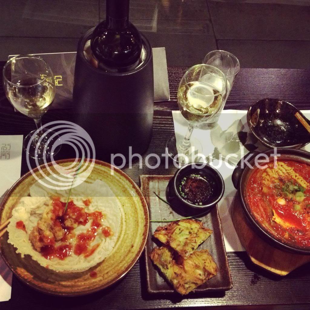 best food london kimchee