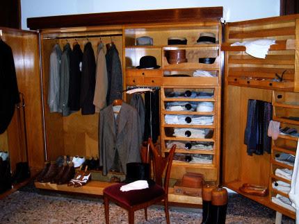 Gabriele D'Annunzio - il guardaroba