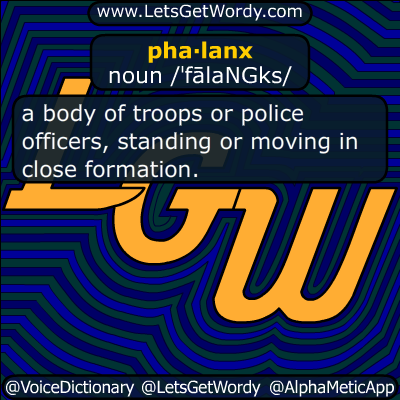 phalanx 04/07/2018 GFX Definition