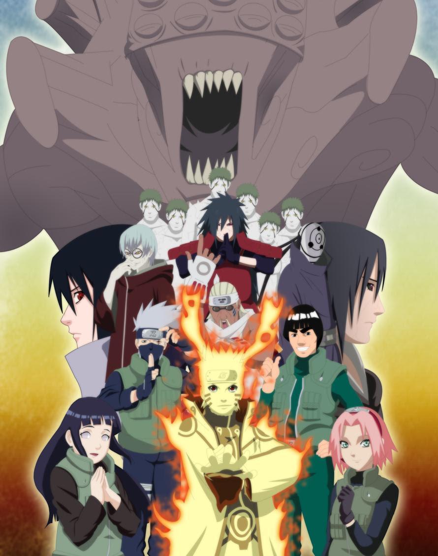 todos los capitulos de Naruto Shippuden por mega