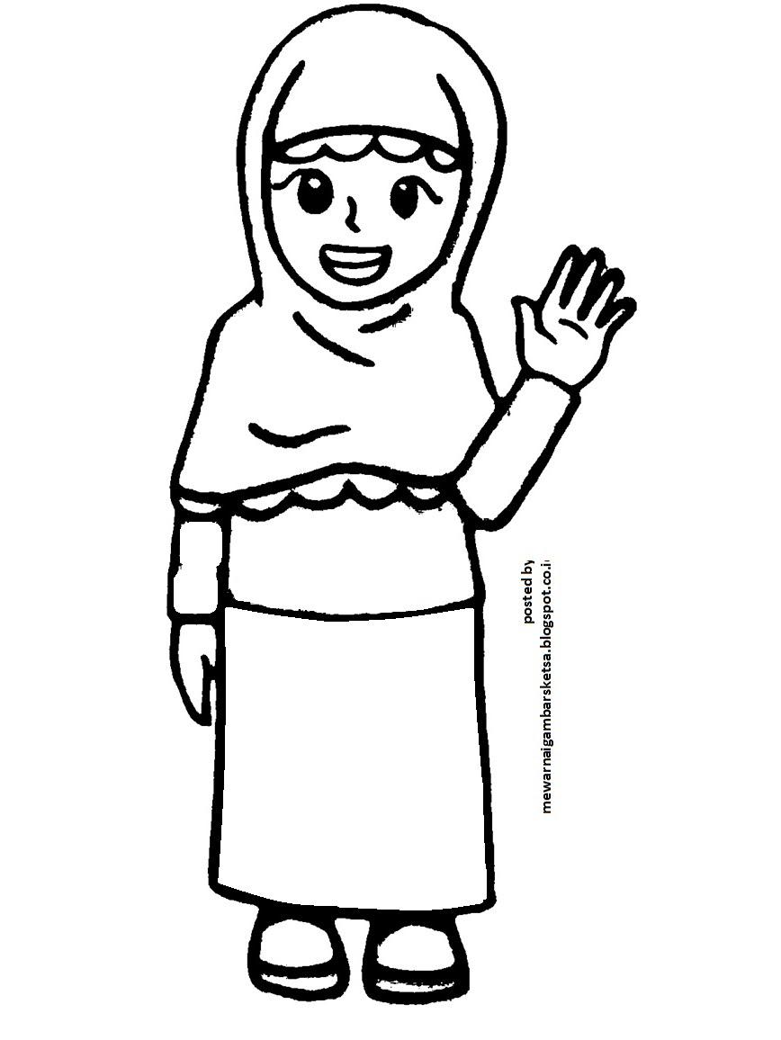 Mewarnai Gambar Gambar Kartun Anak Mengaji Auto Electrical Wiring