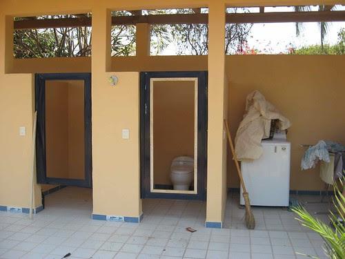 door frame in
