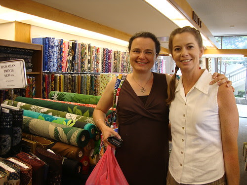 Shannon and me at Kaimuki Dry Goods