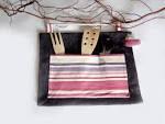 kitchen organizer gift pink to violet stripes by lalunadianna