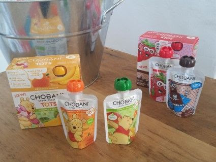Snack Time with Chobani Kids Greek Yogurt