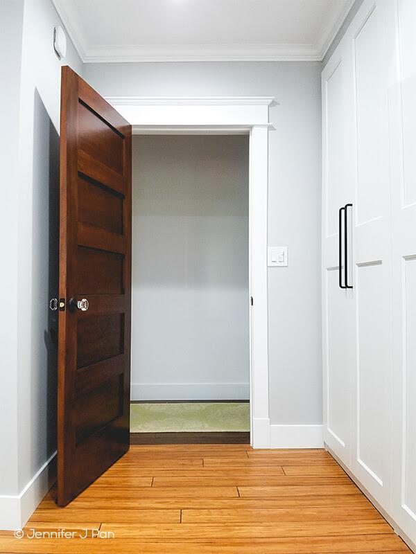 interior wood door 755