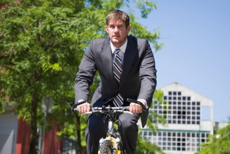 Bicylists: The new limousine liberals