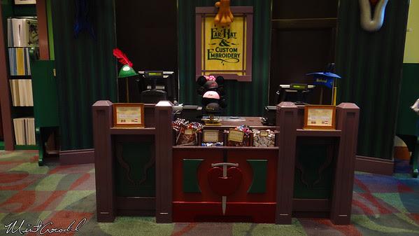 Disneyland Resort, World of Disney, Ear and Hat Embroidery