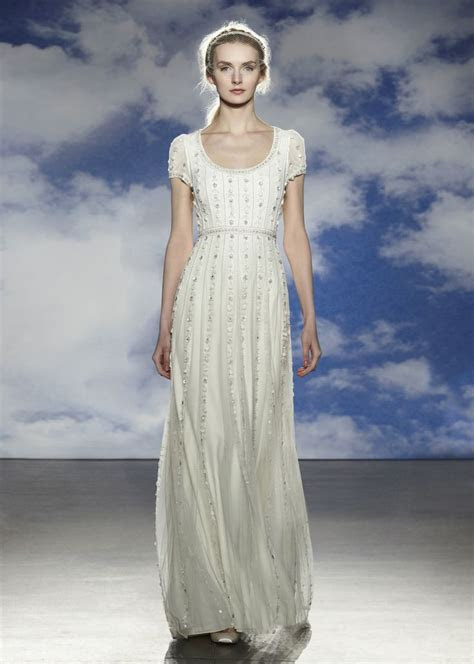 17 Best images about Modest Fall 2015 Wedding Gowns on