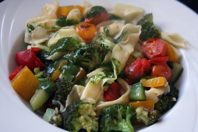 Pappardelle en Salsa Multicolor   (42)