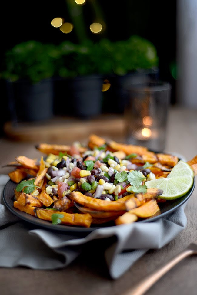 Mexican Style Baked Sweet Potato Fries  Mighty Mrs.  Raising Strong, Healthy Families