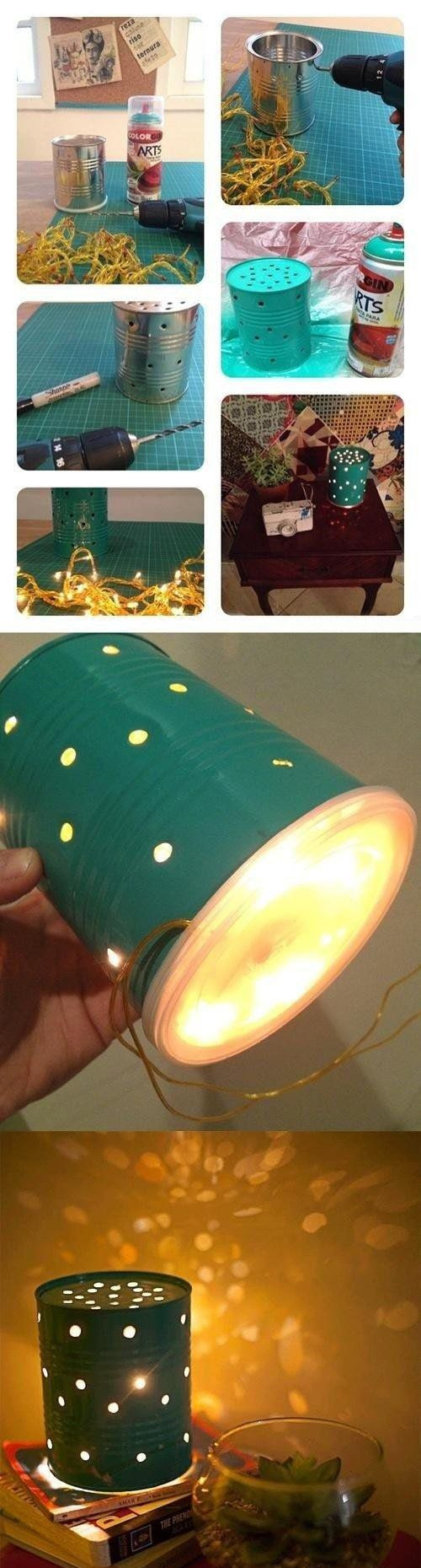 How to create a decorative lamp, OR could make a lampshade for an existing lamp??