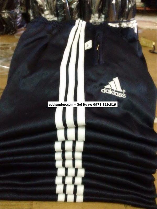quần thể dục học sinh adidas