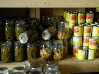 Root Cellar Jars and Cans