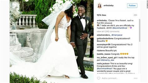 Kevin Hart gets married to longtime girlfriend   CNN