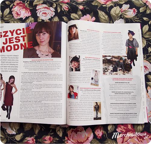 Burda Easy Fashion S/S 2011, szycie krok po kroku, artykuł, szafiarka, krawiectwo