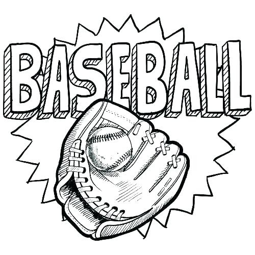 5400 Baseball Coloring Pages Images & Pictures In HD